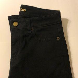 Michael Kors Selma BLK//GLD Skinny Jeans/P